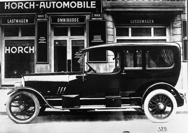 รถยี่ห้อ HORCH ในอดีต